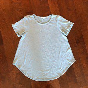 Aritzia: Wilfred Free Esther T-Shirt in Aqua